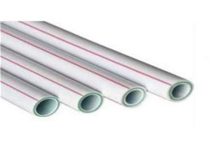 Round Fiberglass Ppr Composite Pipe , PN 25 Plastic Composite Pipe Hot Melting